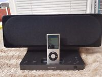 Apple iPod and Sony Speaker Dock