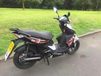 Kymco super 8 125cc 12 months mot 2015 ready to ride