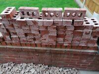 70 reclaimed bricks.