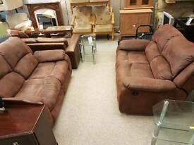Beautiful two & two seater suite