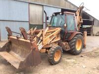 Case 580K wheeled digger / excavator / backhoe