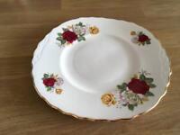 English bone china sandwich/ cake plate