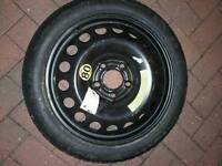 Spare tyre space saver