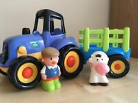 Early learning centre tractor & trailer