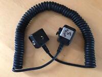 Nikon SC-28 TTL sync cord.