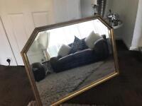 Stunning Giant Gold Ornate Mirror