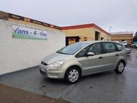 FORD S-MAX 1.8 TDCI 7 SEATER * PRICE DROP £2950 FULL YEARS MOT