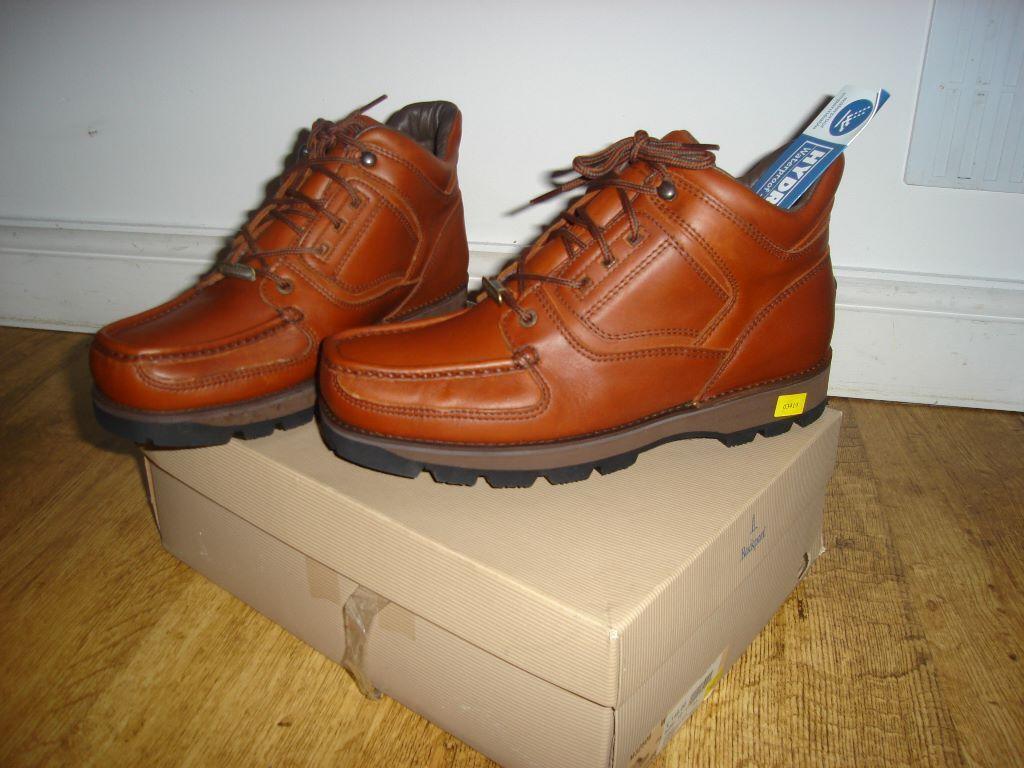 Rockport Boots Xcs Dark Tan Boots Size 10 Brand New Boxed Hydro