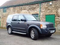 Land Rover DISCOVERY 3 2.7 Leather upgrade, Sat nav, parking sensors, 06 plate