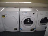 TUMBLE DRYERS WITH WARRANTY VENTED CONDENSER EX DISPLAY AND RECONDITIONED