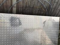Aluminium sheet, chequer plate, metal sheet