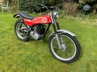 1974 Road Registered Montesa Cota Rare 247t twin shock trials trail 247 2 stroke classic bike