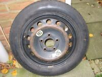 BMW space saver wheel - T115/90/R16