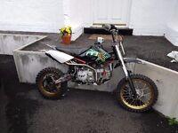 Pit bike yx160 (cwbikes)