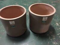 """2 x New Large Plant Pots 14"""" X 14"""""""