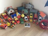 job lot of Firemansam toys