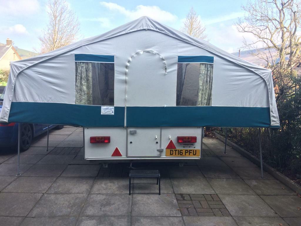 pennine fiesta 2+ 2 trailer tent size