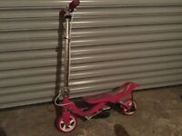 """Girls Space scooter good condition. 27"""" frame"""