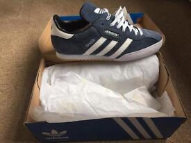 adidas trainers samba size 8 new