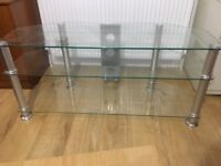 "Excellent condition. 3 Level Stand. Suitable for 55""-65"" TV (Even with wide legs TV)"