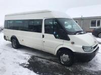 2005 Ford Transit 2.4 Diesel 17 Seater Minibus / psvd / May Part Exchange