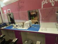 Beautician stall for sale