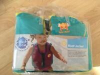Float jacket for toddler