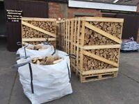 Kiln dried hardwood logs for sale