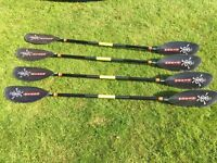Lendal Mania N12 Kayak Paddle - Only one left - Good condition - £30