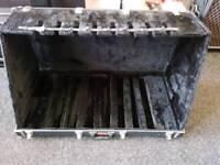 8 way guitar rack case