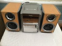 PANASONIC MIDI HIFI WITH 5 CHANGER CD CHANGER IN EXCELLENT WORKING CONDITION