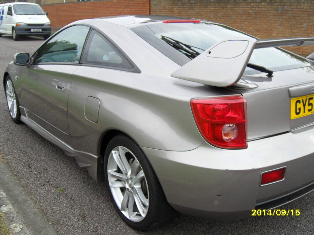 2006 toyota celica vvtl i gt grey bargain 164k united kingdom gumtree. Black Bedroom Furniture Sets. Home Design Ideas
