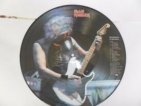 Iron Maiden Revelations in Germany ltd edition picture disc.