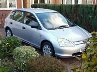 Honda Civic 1.6lt 2001 - Brilliant Condition