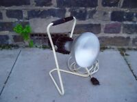 Vintage Sun Light Tanning Lamp Retro Mid Century