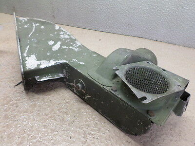 EARLY CESSNA 310 AIRCRAFT INTAKE INDUCTION AIR BOX ASSEMBLY