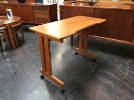 Danish Desk by Bornholm Mobelfabrik. Retro Vintage Mid Century