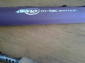Airflo M Tech mkll 9ft 6 6/7 weight fly fishing rod for sale