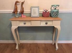 Dressing table or hall console table