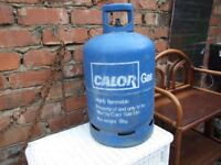 2 emty calor gazs bottles 1x15 kg 1 7kg