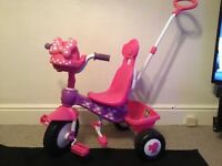 Minnie Mouse Trike girls children's bike