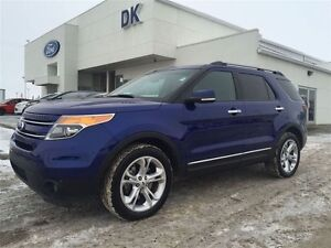 2015 Ford Explorer Limited AWD with Nav, Remote Start and Tow