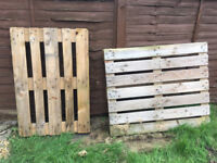 2 pallets can be collected for FREE from Bristol