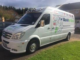 Mercedes sprinter 311 CDI LWB 1 company owner,172300 miles with private plate