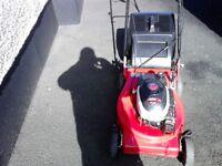 Petrol lawnmower MINT £120 ono