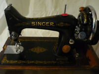 Vintage 1938 Singer Sewing Machine EB38489-2