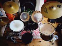 Full Good Condition Drum Kit