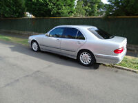 Reduced price! Left Hand Drive Mercedes W210 E200 Kompressor LHD 186HP Elegance LPG Saloon