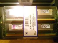 memory ram 4gb ddr2 8gb ddr3 new kingston brand