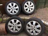 Vauxhall Corsa SXi alloys x 4